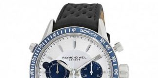 Raymond Weil Freelancer Blue&White Watch