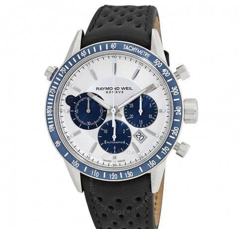 Raymond Weil Freelancer Blue&White Watch