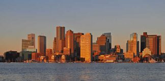 Panoramic View of Boston
