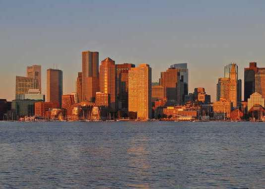 Panoramic View of Boston