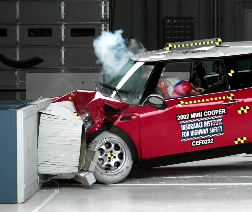 Crash Test for Mini Cooper