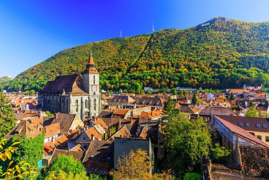 Brasov City in Transylvania