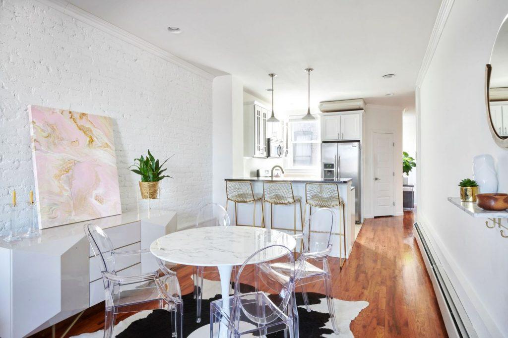 Open kitchen/ 658 Park Place:;