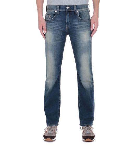 Ricky Regular Fit Blue Wash Jeans