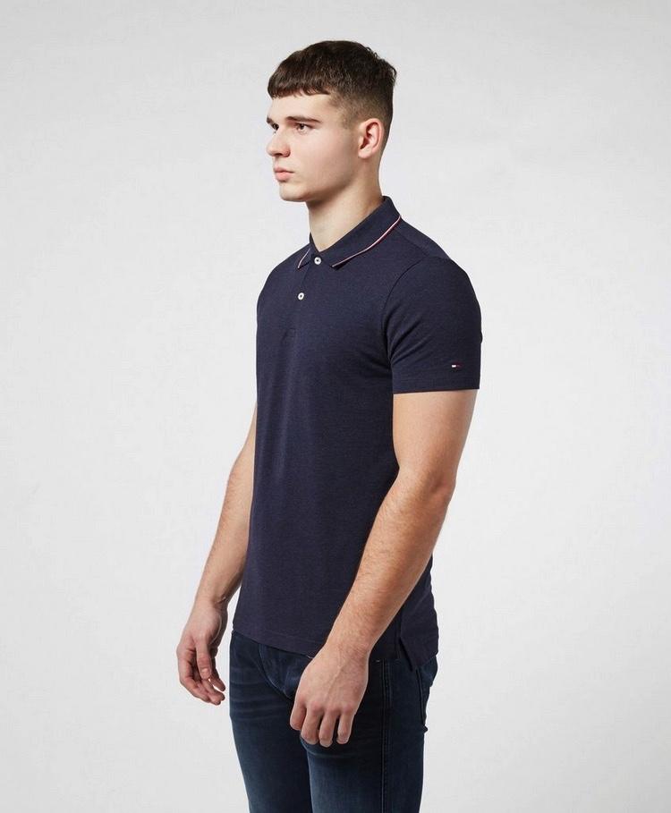 Men's Blue Classics Tipped Polo Shirt