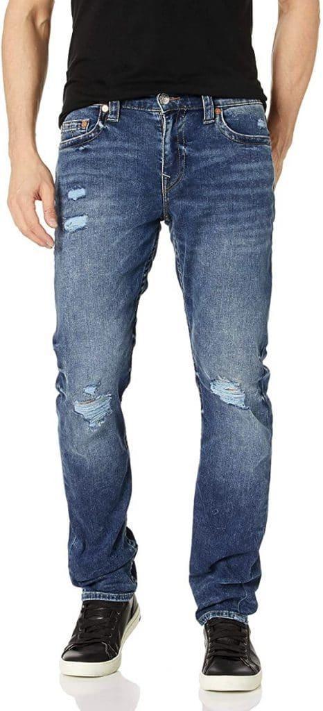True Religion Men's Geno Slim Leg Fit Jean