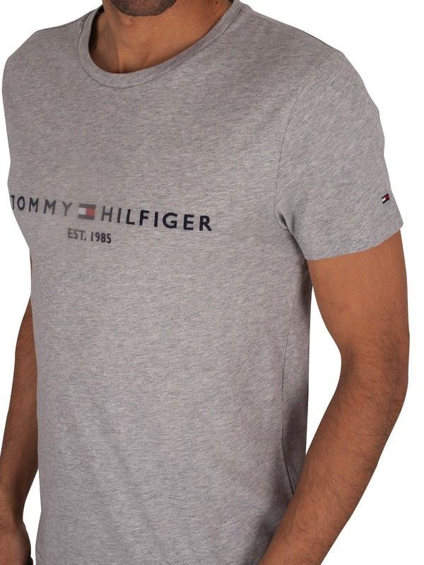Men's Gray Core Logo T-shirt