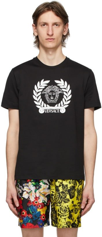 Exclusive Black Laurel Medusa T-shirt