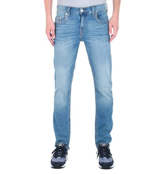 Geno Relaxed Slim Fit Blue