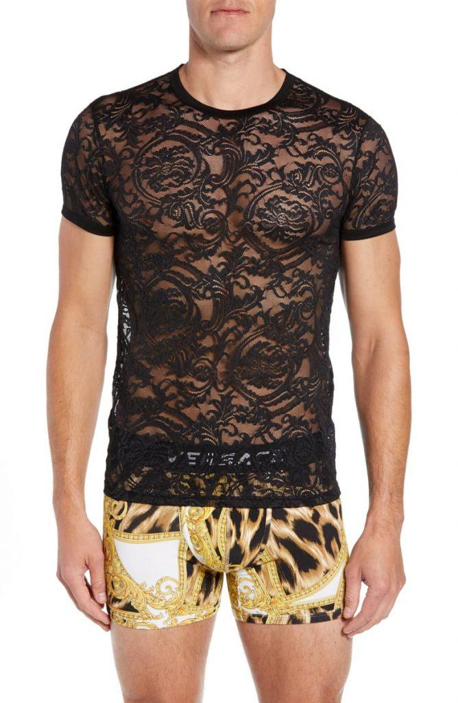 Intimo Uomo Lace T-Shirt