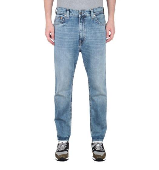 Logan Tapered Fit Light Blue Jeans