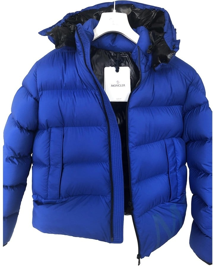 Moncler Classic Blue Synthetic Jacket