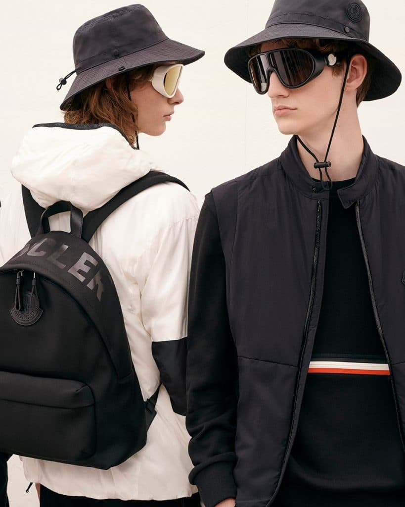 Moncler Jackets and Lunettes;