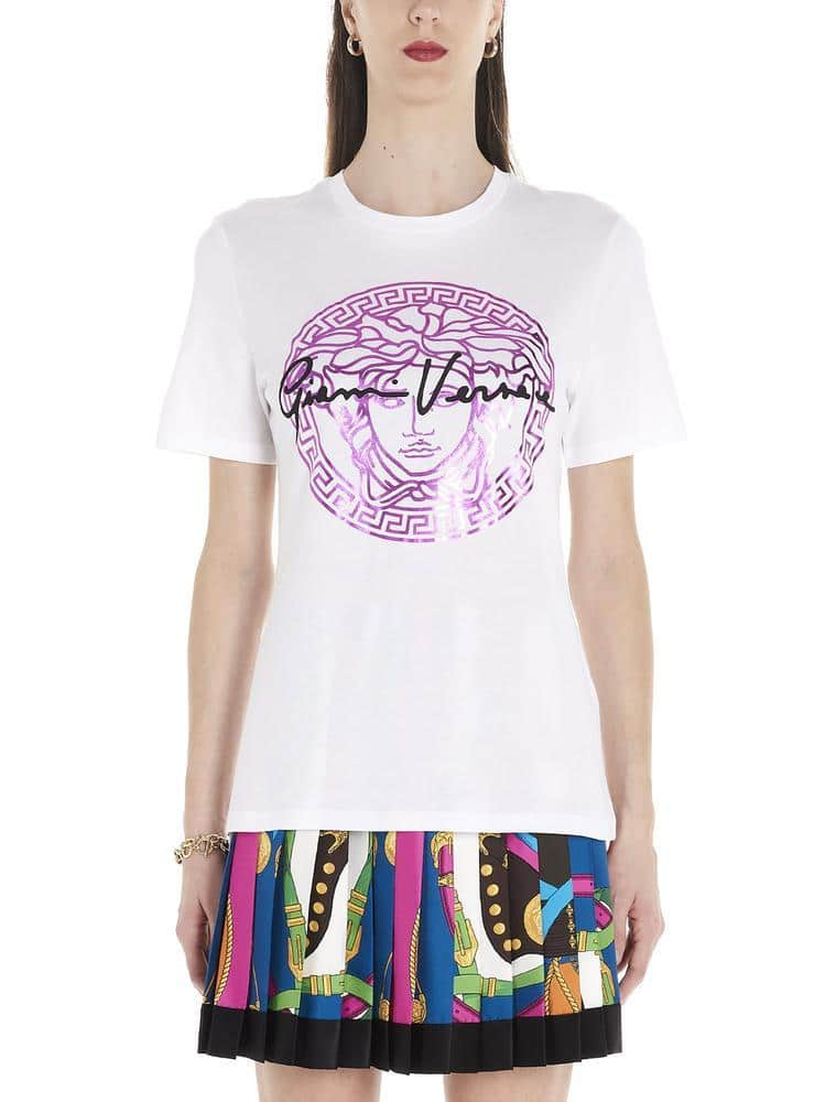 Versace Medusa Signature Printed T-Shirt