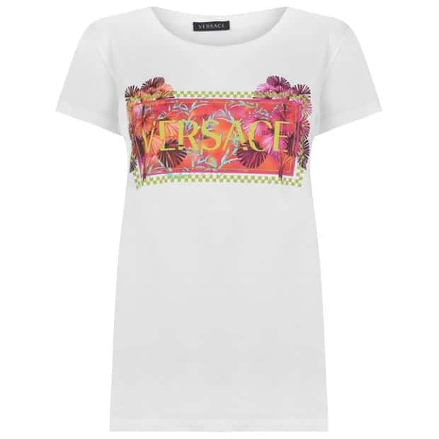 Versace Print Logo T-shirt