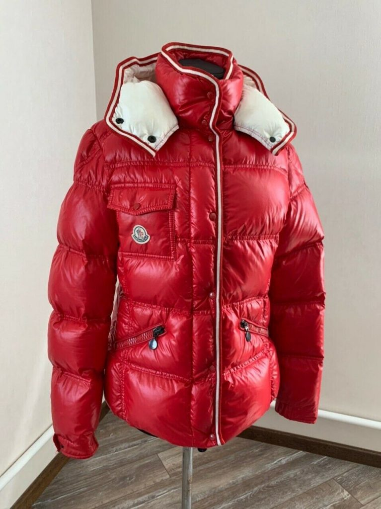 Womens Puffer Winter Down Jacket Armoise Red