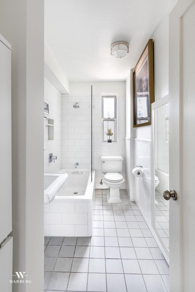 Bathroom/ 73-12 35 Avenue, Apt C64, Jackson Heights, NY/ Warburg Realty