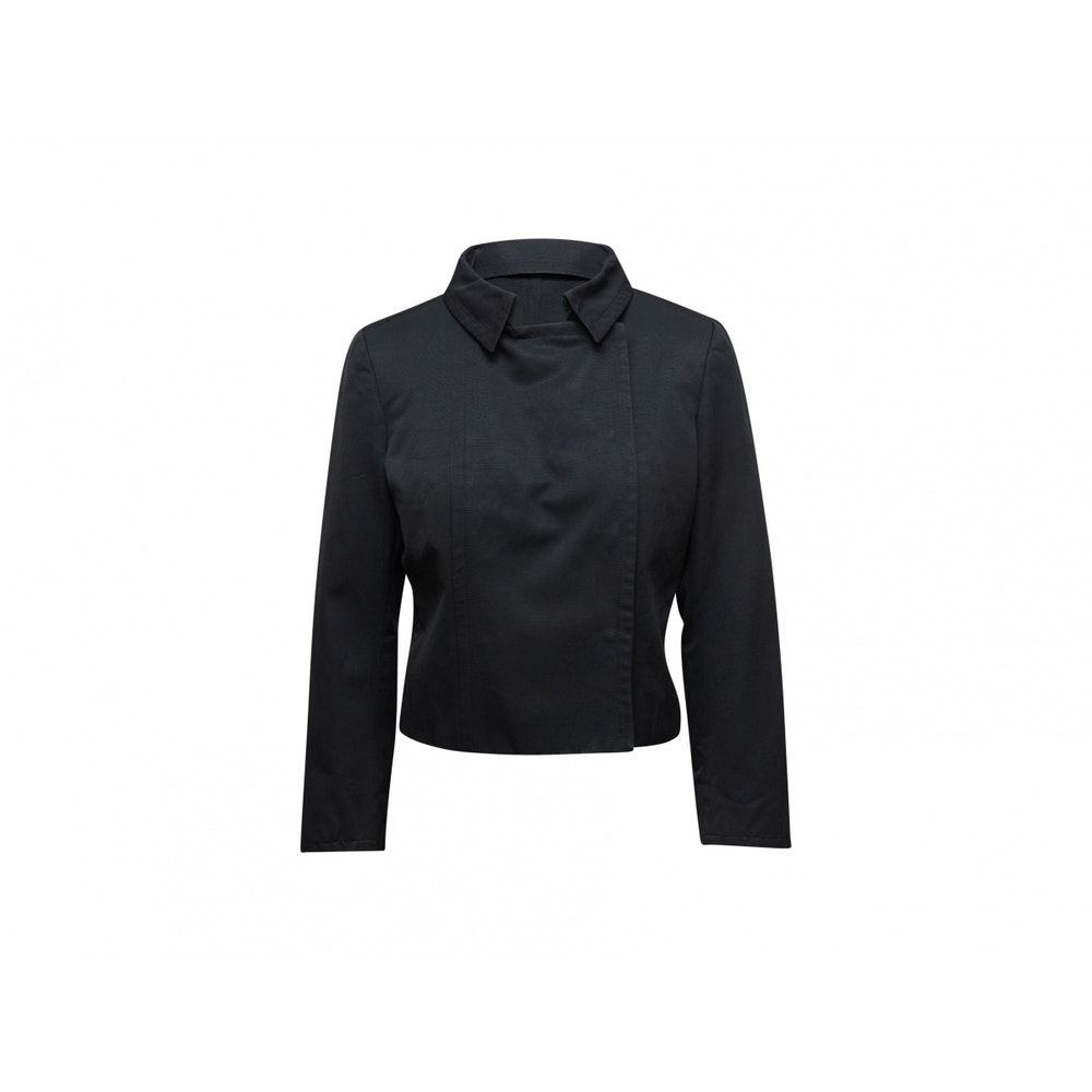 Black Double-Breasted Jacket by Gucci