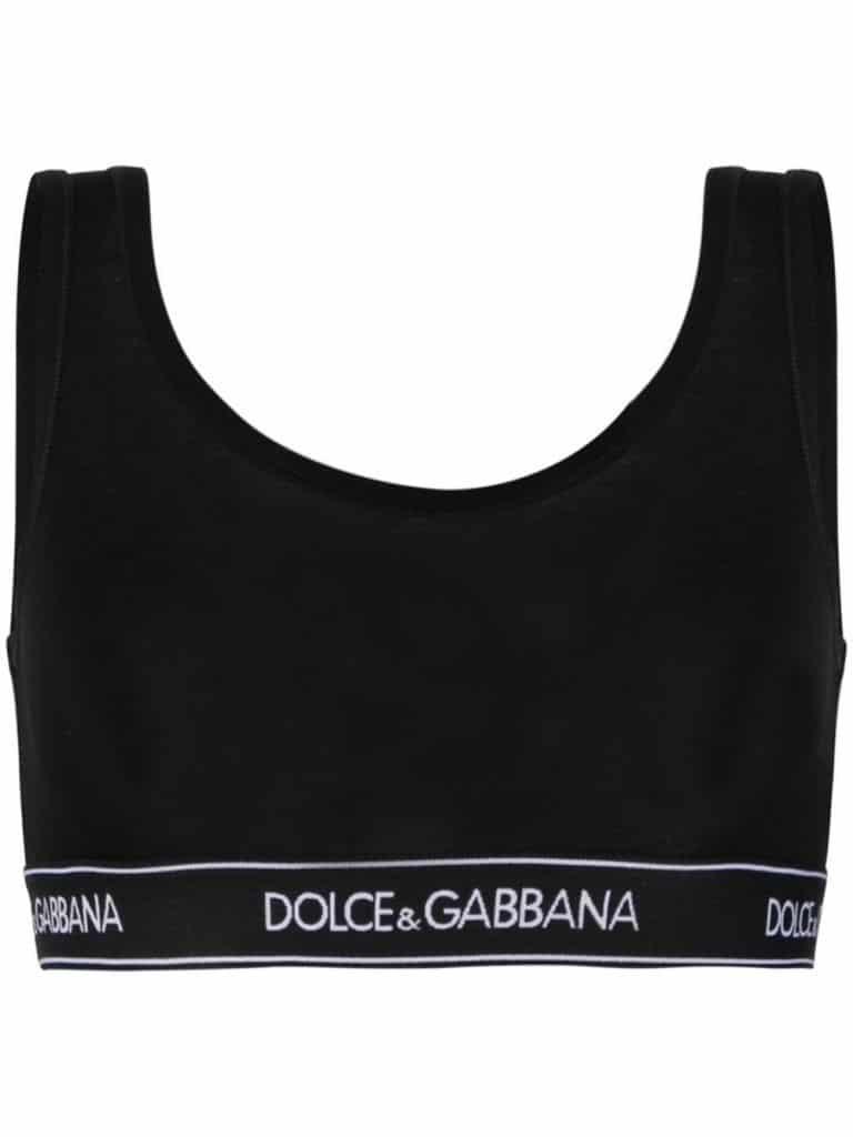 Dolce & Gabbana Underwear Logo Brand Bra