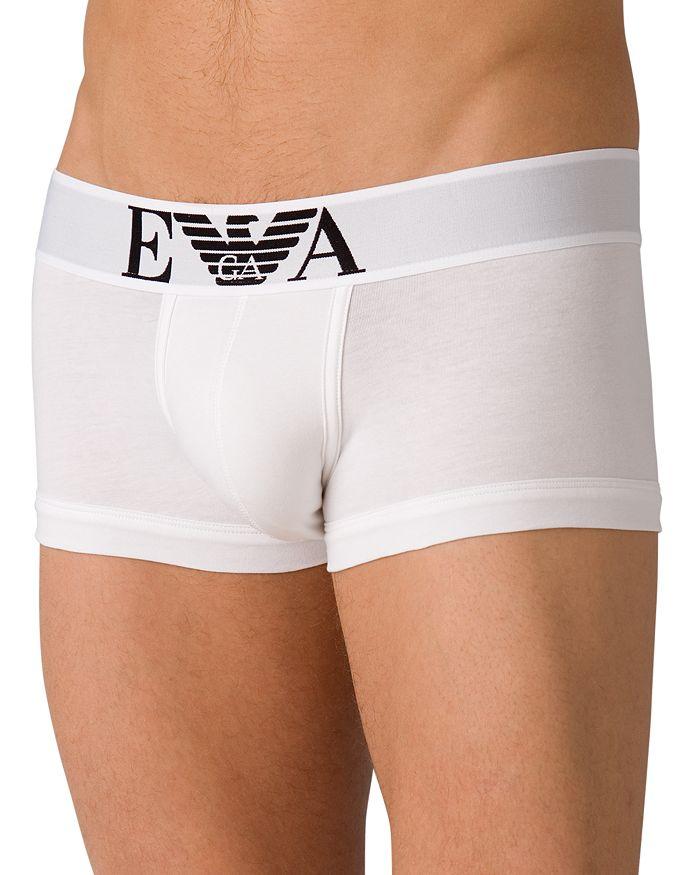 Emporio Armani Men's Stretch Cotton Trunk