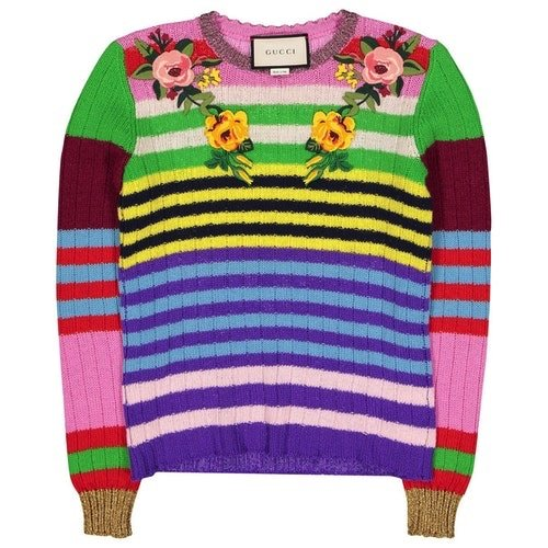 Multicolor Wool Knitwear