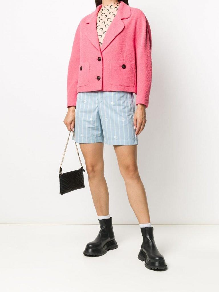 GG Vertical-stripe Shorts