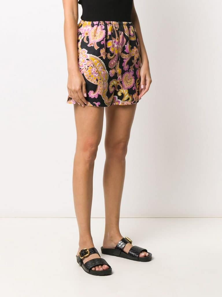 Gucci Paisley Print Shorts