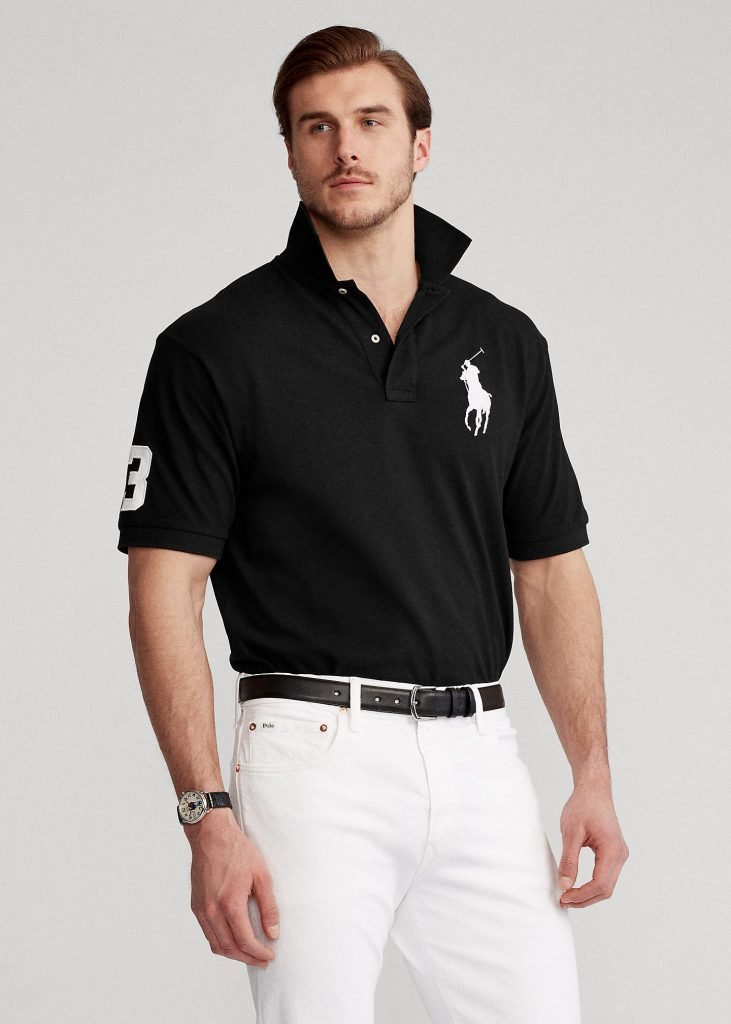 Ralph Lauren Big Pony Mesh Polo Shirt