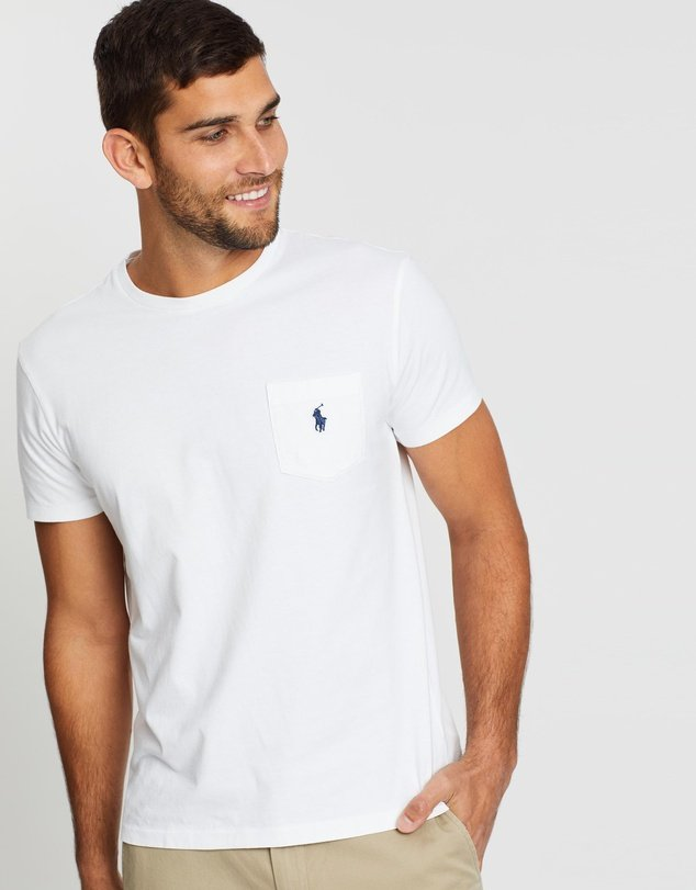 Ralph Lauren Classic Fit Crew Neck Tee Shirt