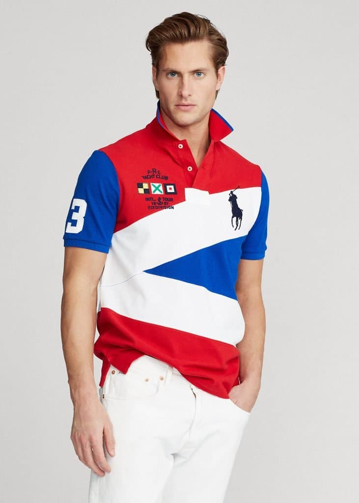 Yacht Club Mesh Polo Shirt - All Fits