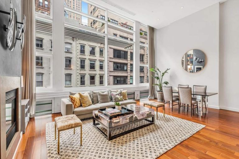 Property of the Week: Dramatic Duplex Living in Tribeca, NYC