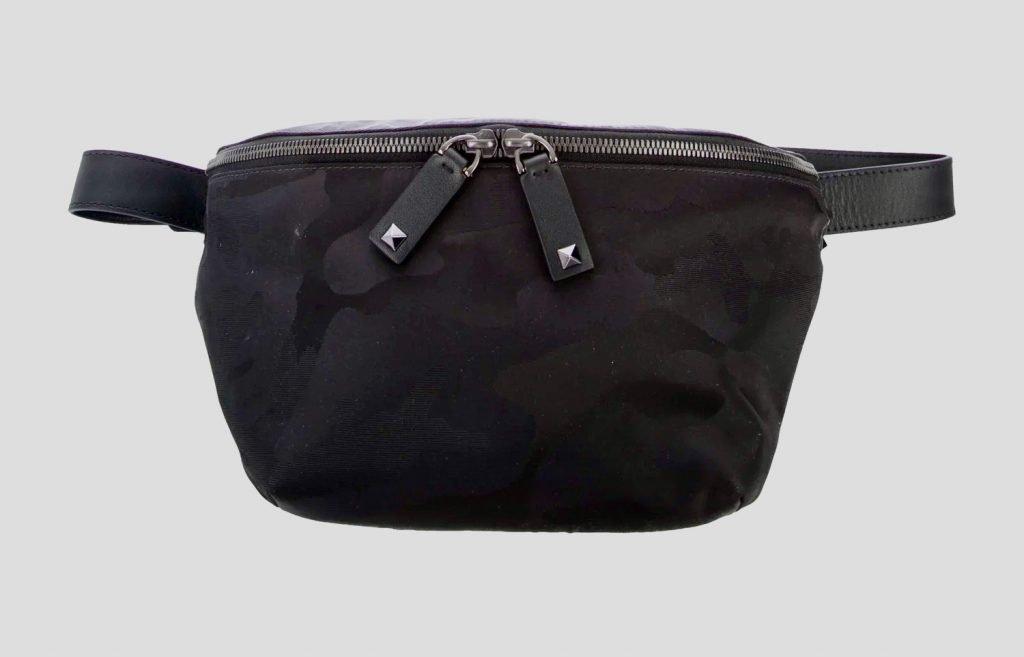 Valentino Rockstud Camunoir Belt Bag w/Tags