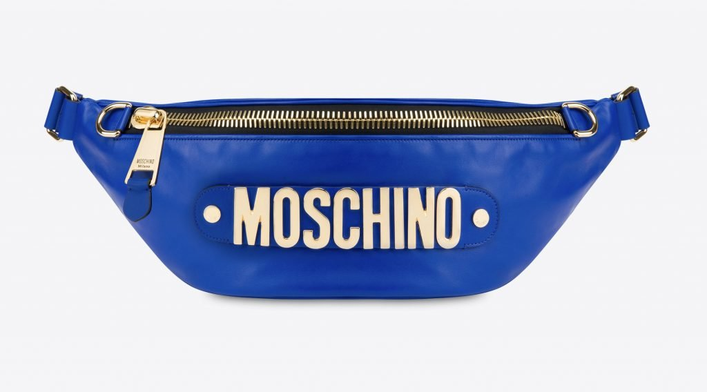 Moschino Macro Waist With Lettering Logo
