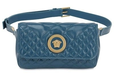 Versace Icon Quilted Leather Belt Bag