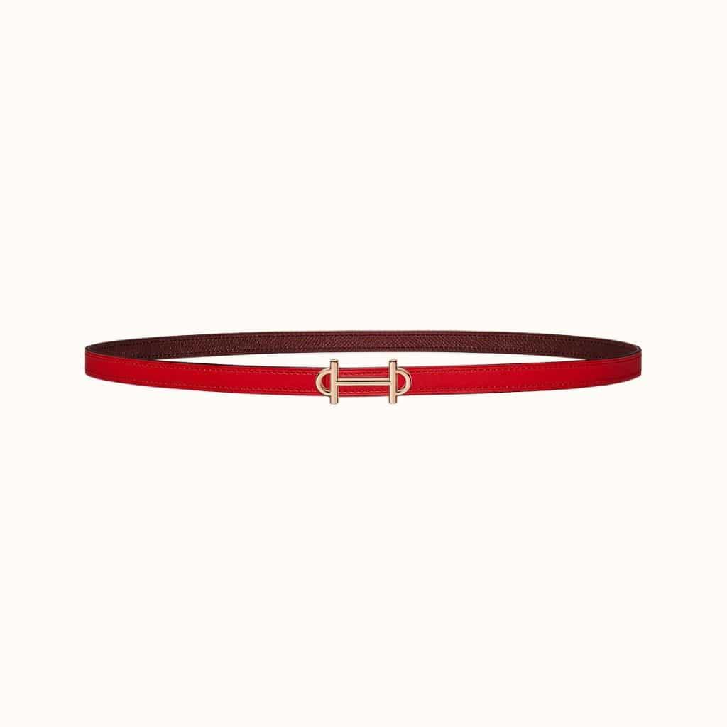 Gamma Belt Buckle & Reversible Leather Strap 13