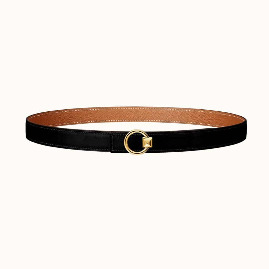 Mini Medor Belt Buckle & Reversible Leather Strap 24 mm