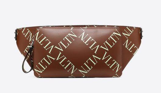Valentino 2019 Leather VLTN Waist Bag