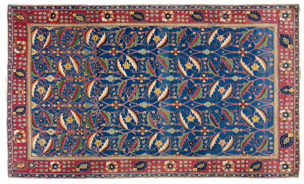 Kirman Vase Rug, 17th Century Persian Carpet