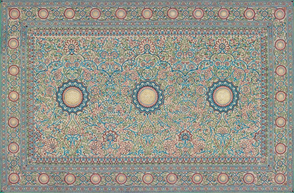 The Pearl Carpet of Baroda, 19th Century