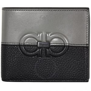 Gancini Logo Bifold Wallet