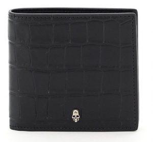 Alexander McQueen Embossed Bifold Wallet