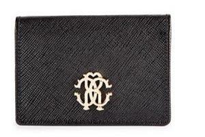 Crest Leather Flap Wallet