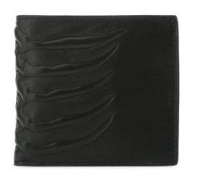 Men's Black Rib Cage Wallet