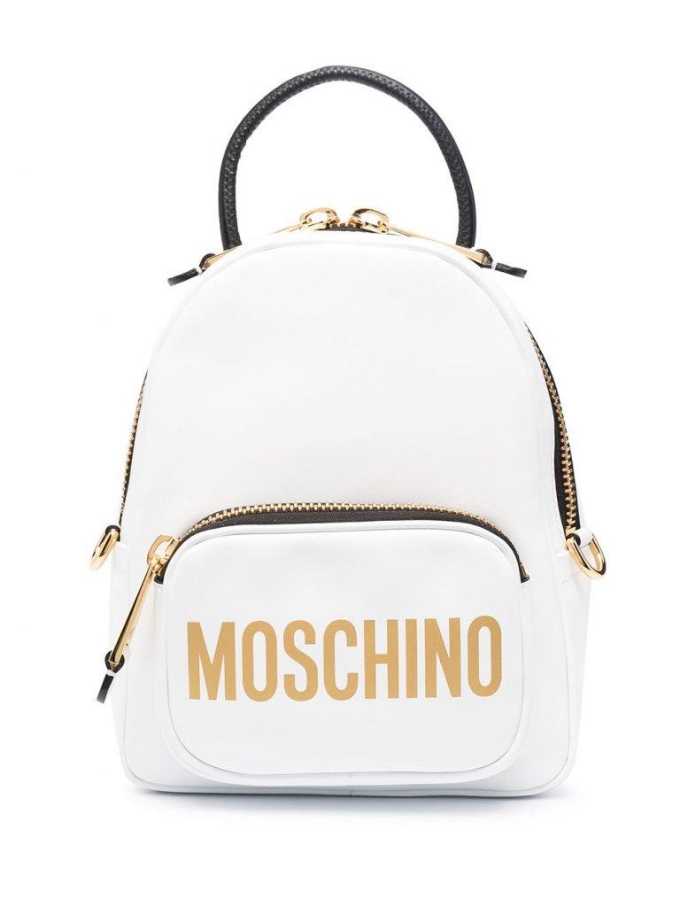 Mini Logo Print Backpack