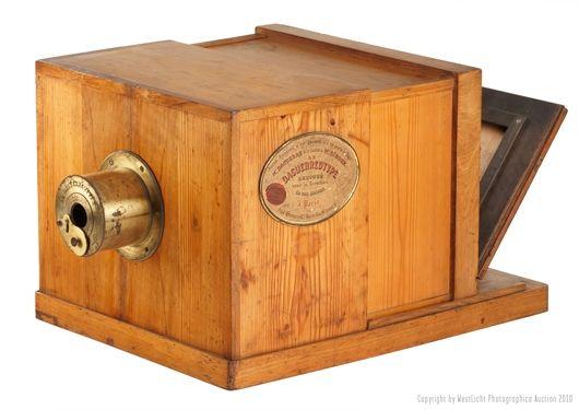 Suisse Frères Daguerréotype pinhole camera